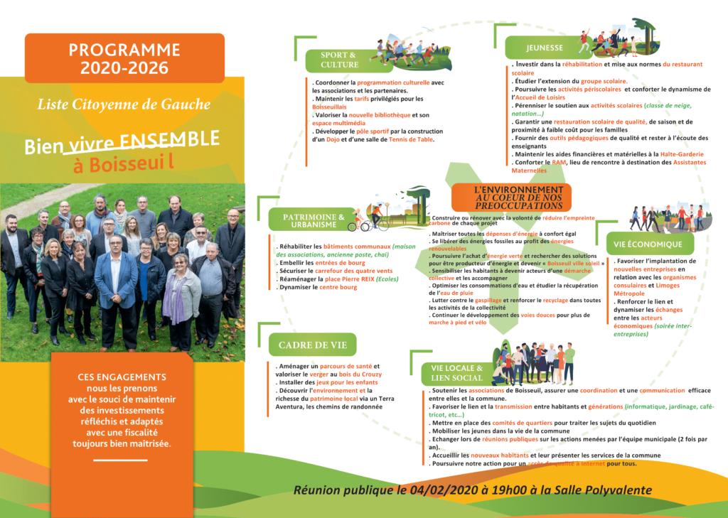 Programme municipale